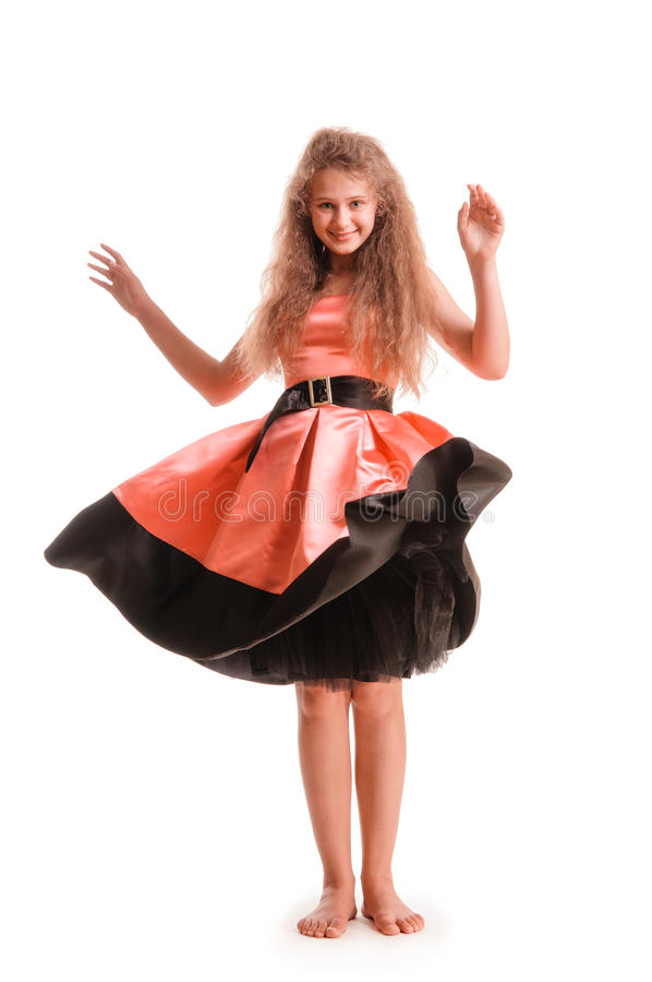 Positive Teen Girl Royalty Free Stock Photo