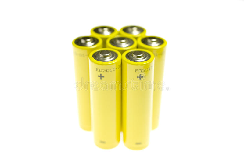 Download Positive Terminal On Battery Stock Image - Image: 23619583