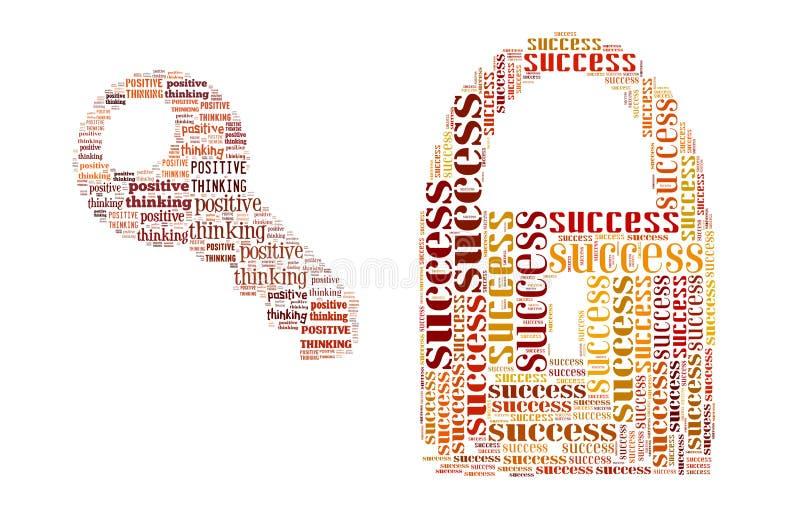 Download Positive Thinking stock illustration. Illustration of banking - 22984912