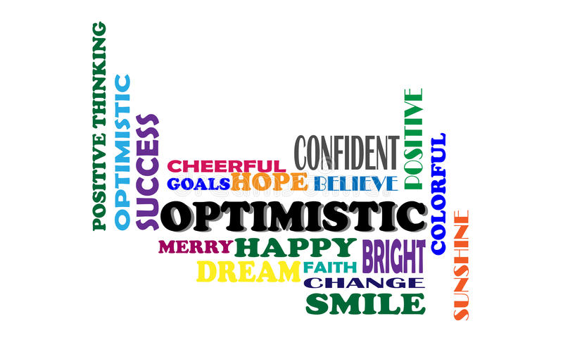 Positive Thinking,Vector illustration stock illustration