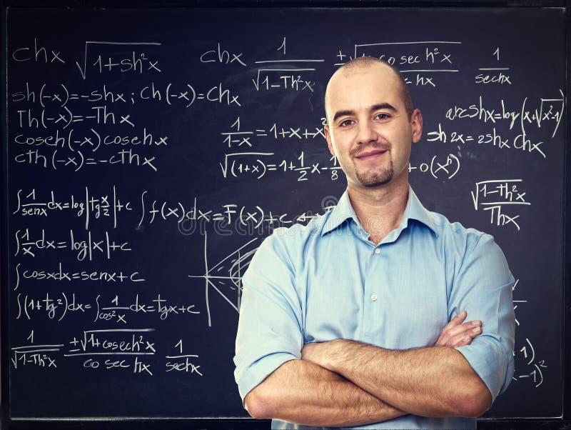 Positiver Lehrer lizenzfreie stockfotografie