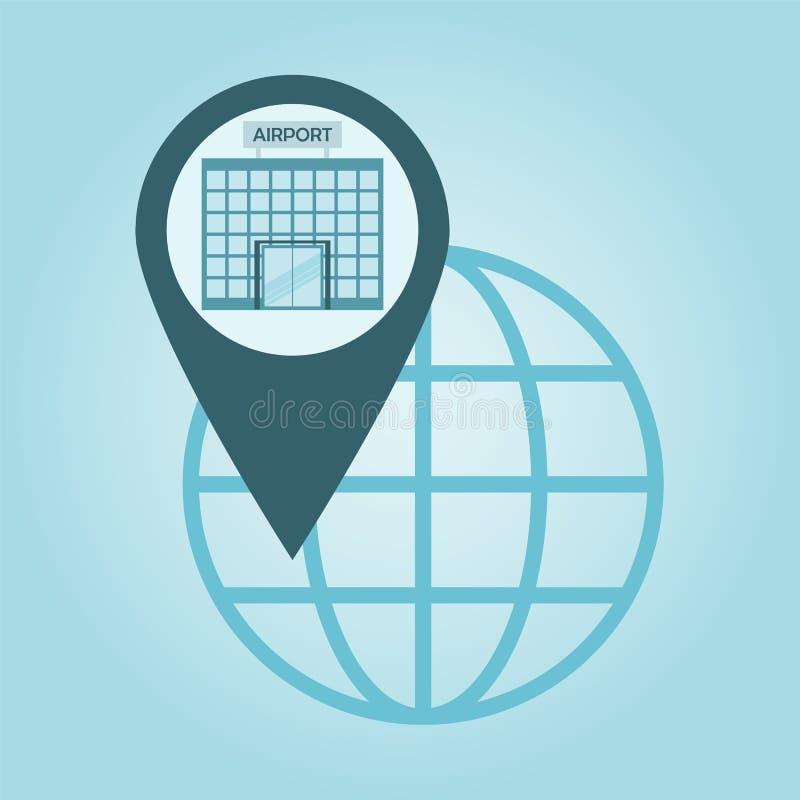 Posizionamento globale royalty illustrazione gratis