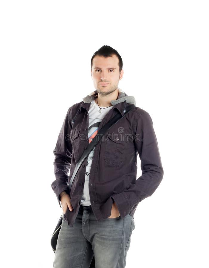 Download Posizione Bella Del Tirante Immagine Stock - Immagine di handsome, tipo: 21550313
