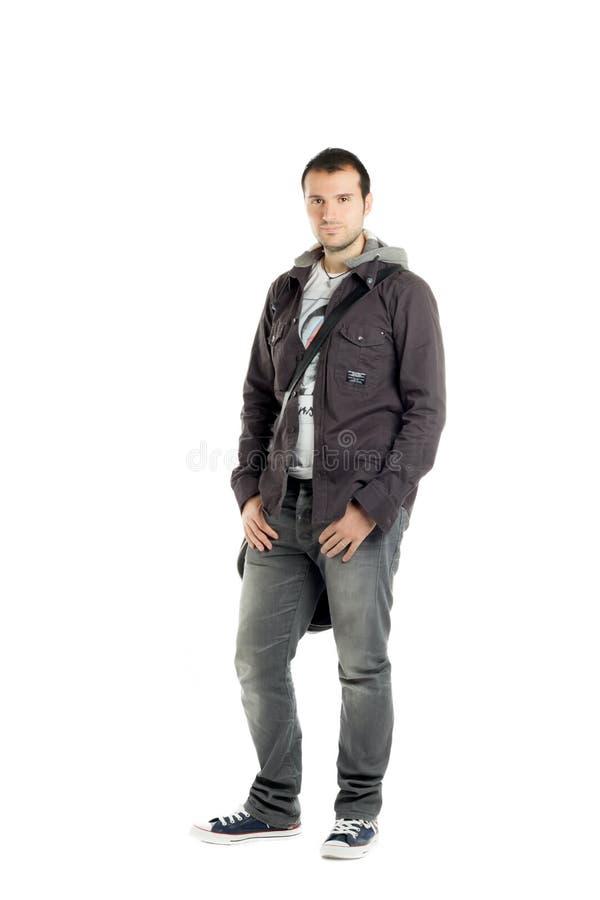 Download Posizione Bella Del Tirante Fotografia Stock - Immagine di vestiti, handsome: 21550320