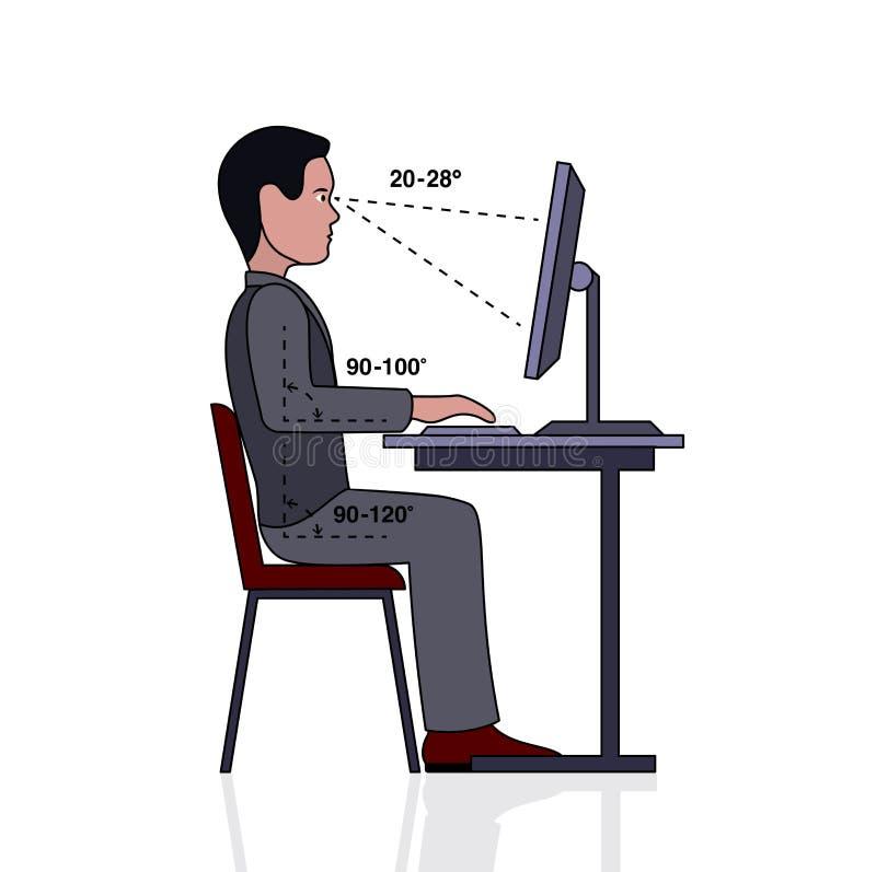 Posizione corretta di infographics alla siluetta del - Posizione posate a tavola ...