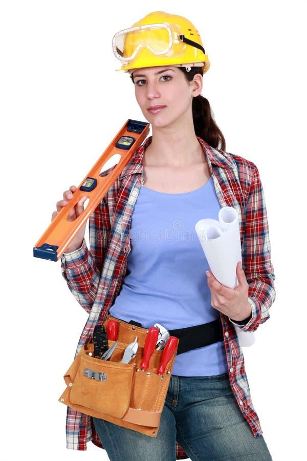 Posizione del Craftswoman immagine stock libera da diritti
