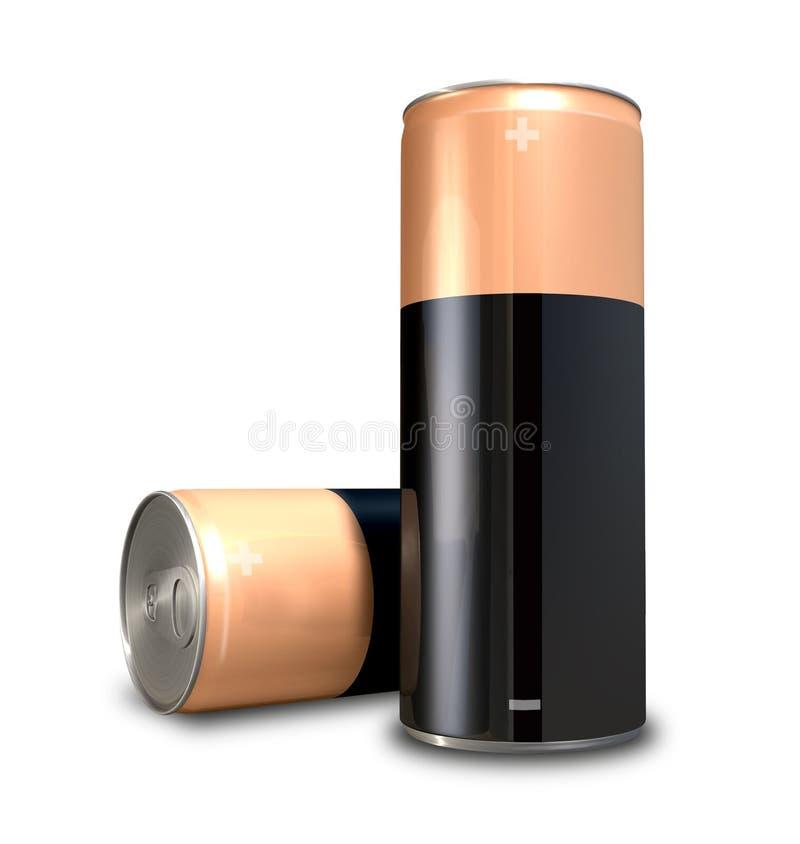 Possa di energia della batteria royalty illustrazione gratis