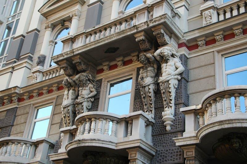 Posse de Atlanta o balcão de pedra em Rijeka, Croácia imagem de stock royalty free