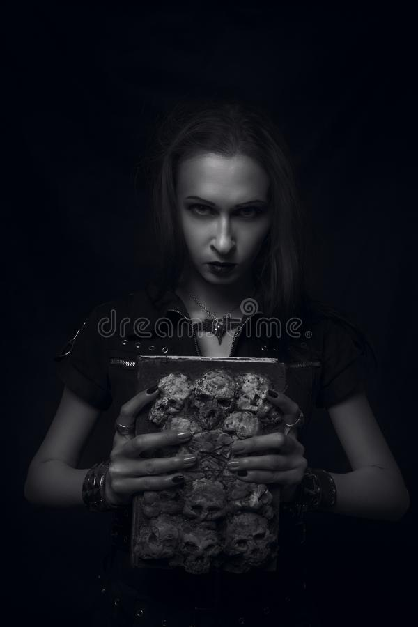 Possessed by demons royalty free stock photos