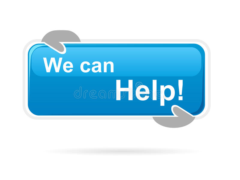 Possiamo aiutare il forum illustrazione vettoriale
