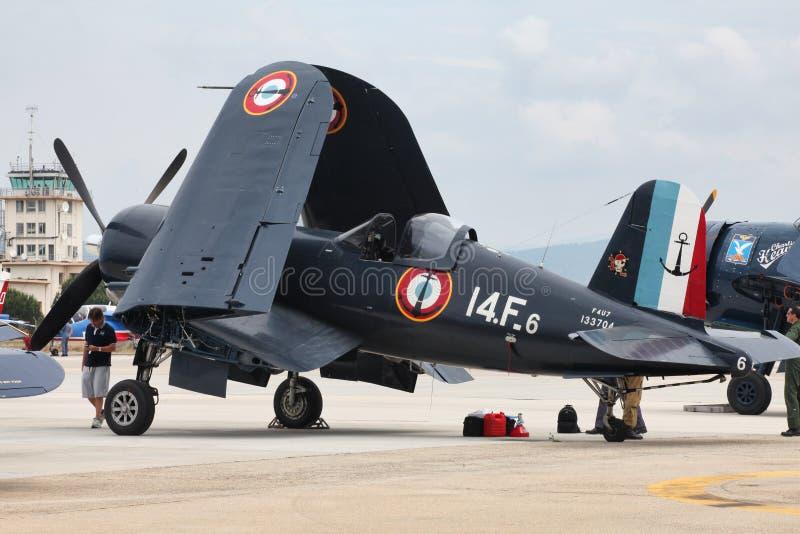 Possibilidade Vought F4U-7 fotografia de stock royalty free
