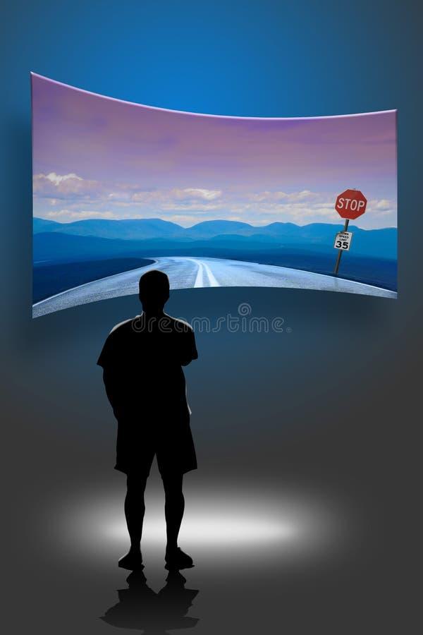 Possibilité illustration libre de droits