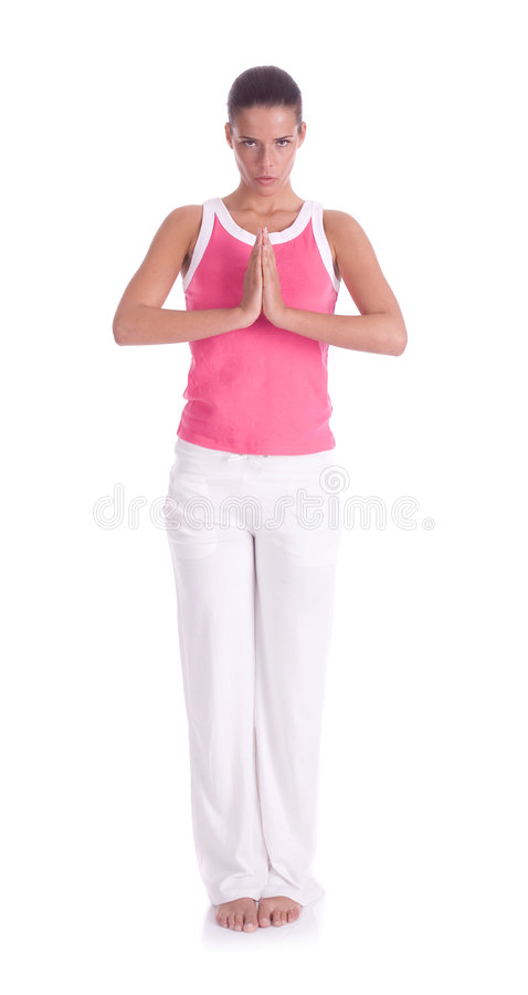 possition yoga στοκ φωτογραφία με δικαίωμα ελεύθερης χρήσης