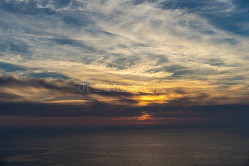 Posso toccare il cielo? fotografia stock