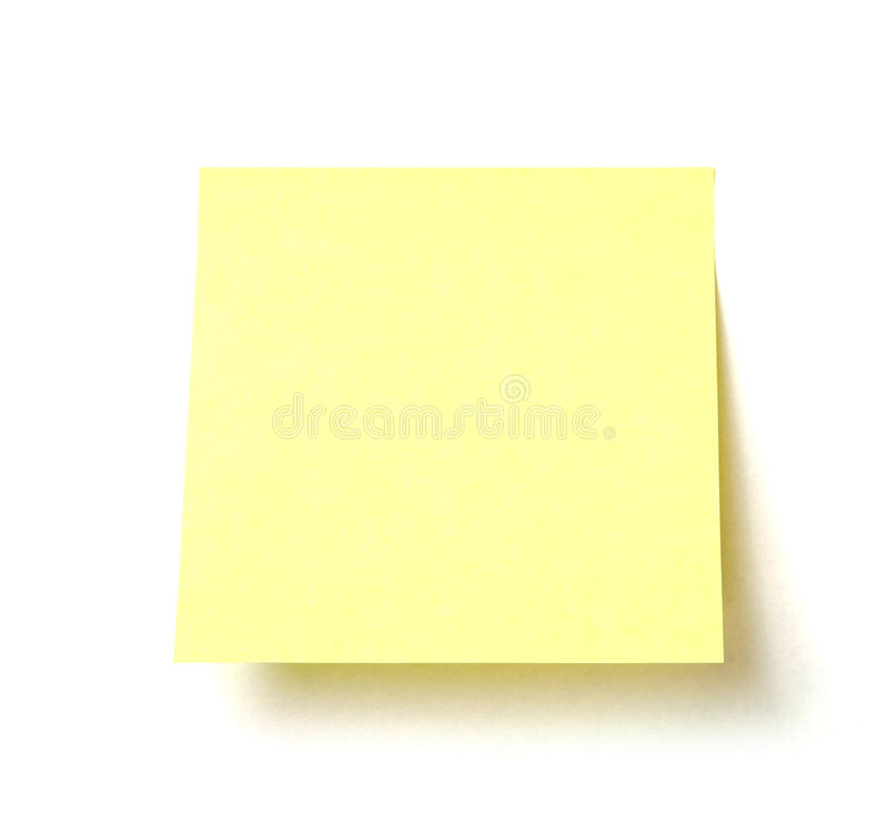 Post-it images libres de droits