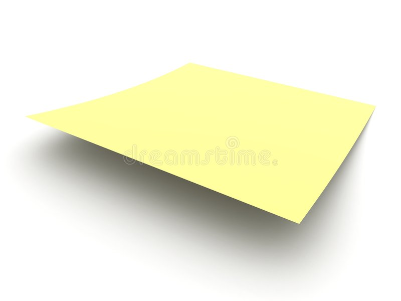 Post-It 2 lizenzfreie abbildung