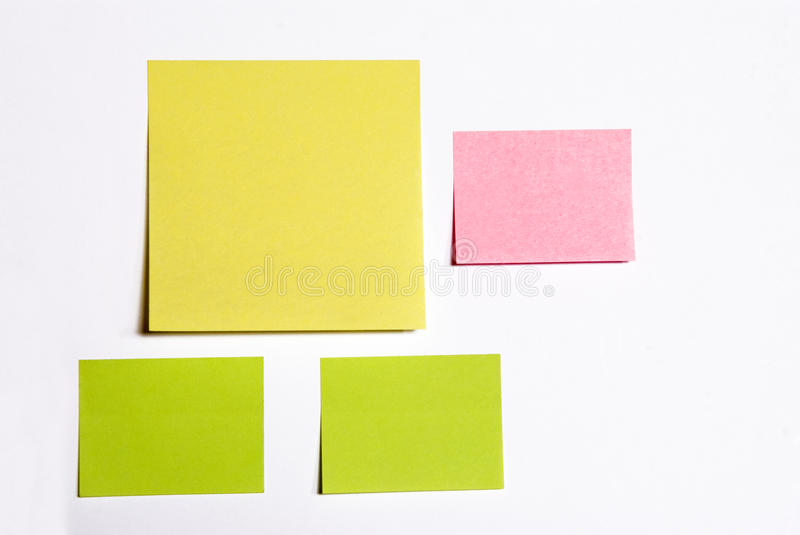Post-it royalty free stock photography