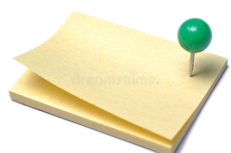 Post-it imagen de archivo libre de regalías