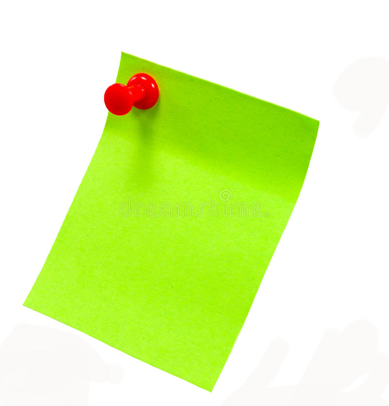 Post It Royalty Free Stock Photography