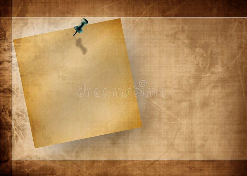 Post-it illustration libre de droits