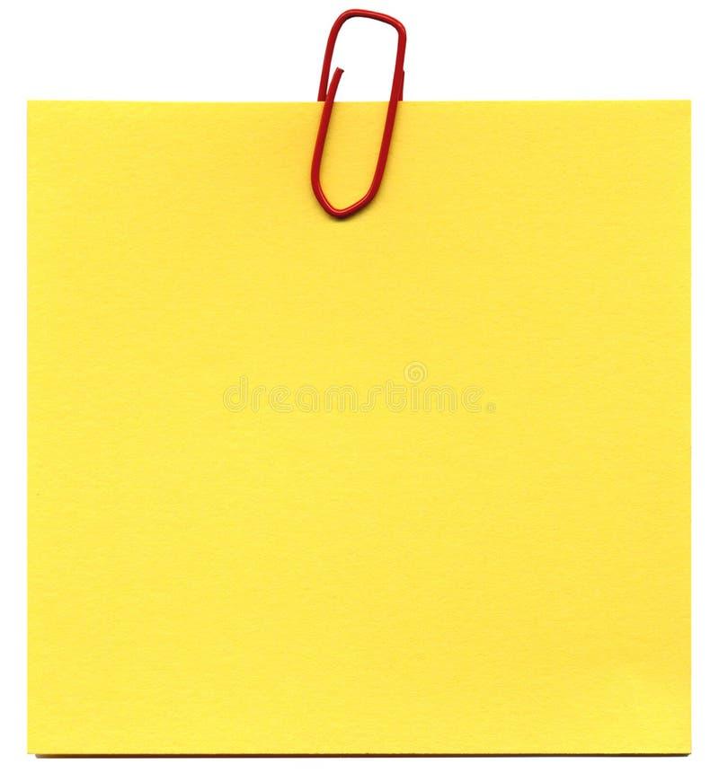 Post-it immagine stock libera da diritti