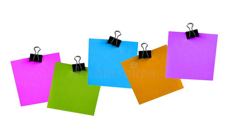 Post-it images stock