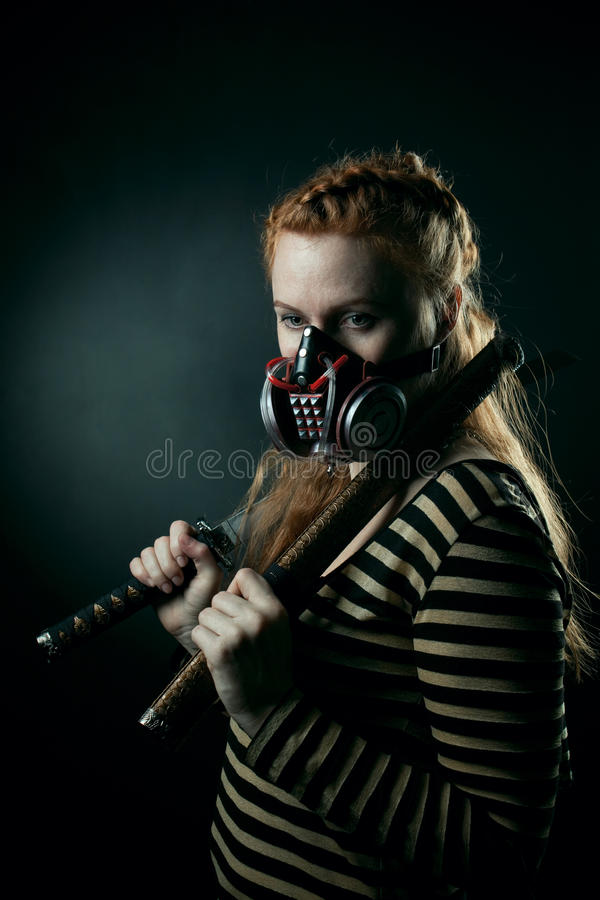 Download Post Apocalypse Samurai Royalty Free Stock Photos - Image: 23828798