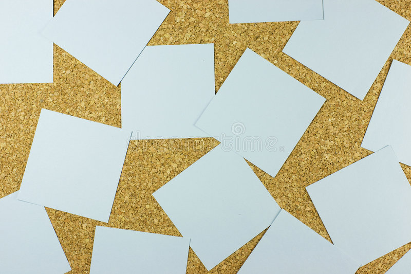 Post-it board stock images
