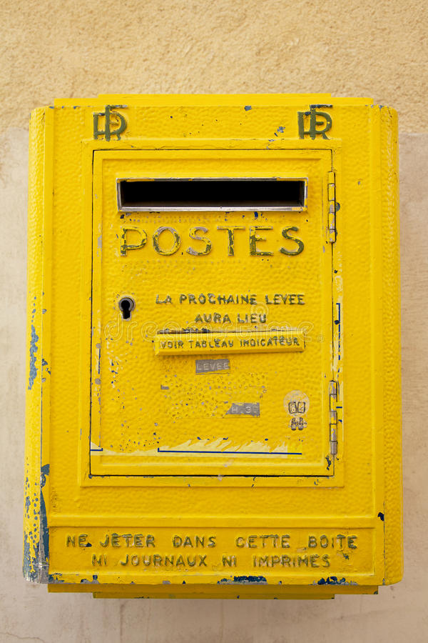Download Post Box stock photo. Image of delivery, france, post - 14658282