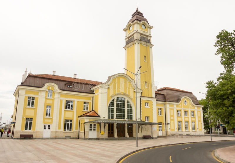 Post Burgas in Bulgarije royalty-vrije stock afbeelding
