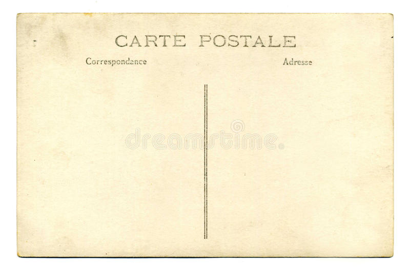 Post card royalty free stock photography