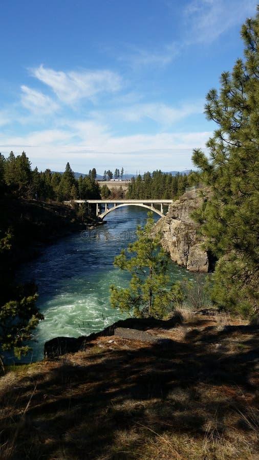 Post Falls Idaho stockfoto