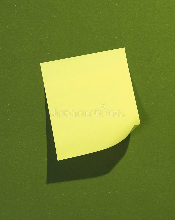 Free Post-it Stock Image - 490511