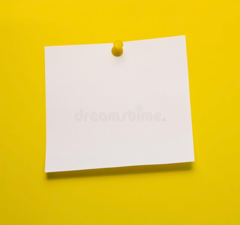 Post-Itanmerkung lizenzfreie stockfotos