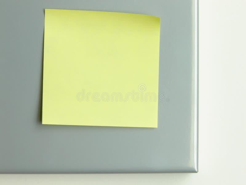 Post-it jaune photos stock
