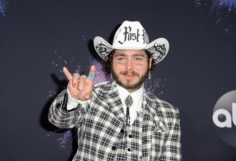 Post Malone royalty free stock photography