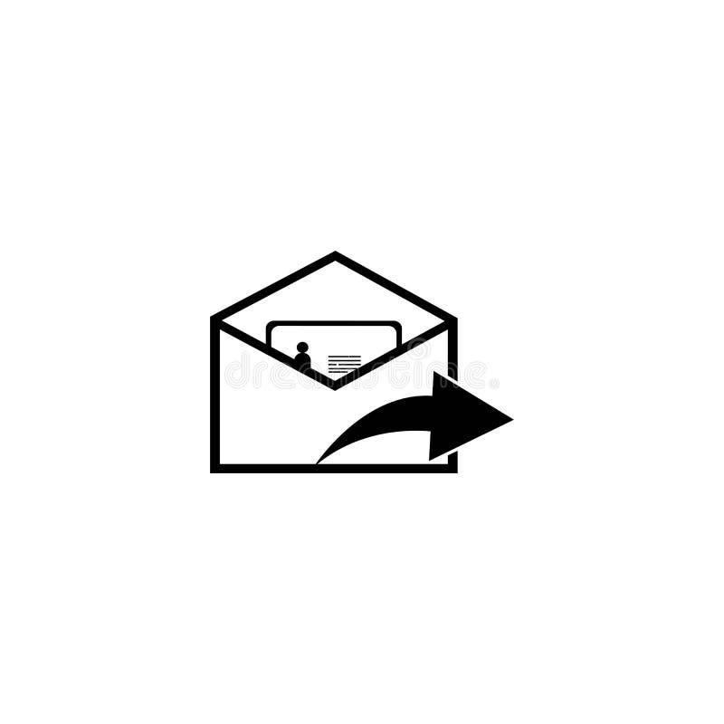 post vektor illustrationer