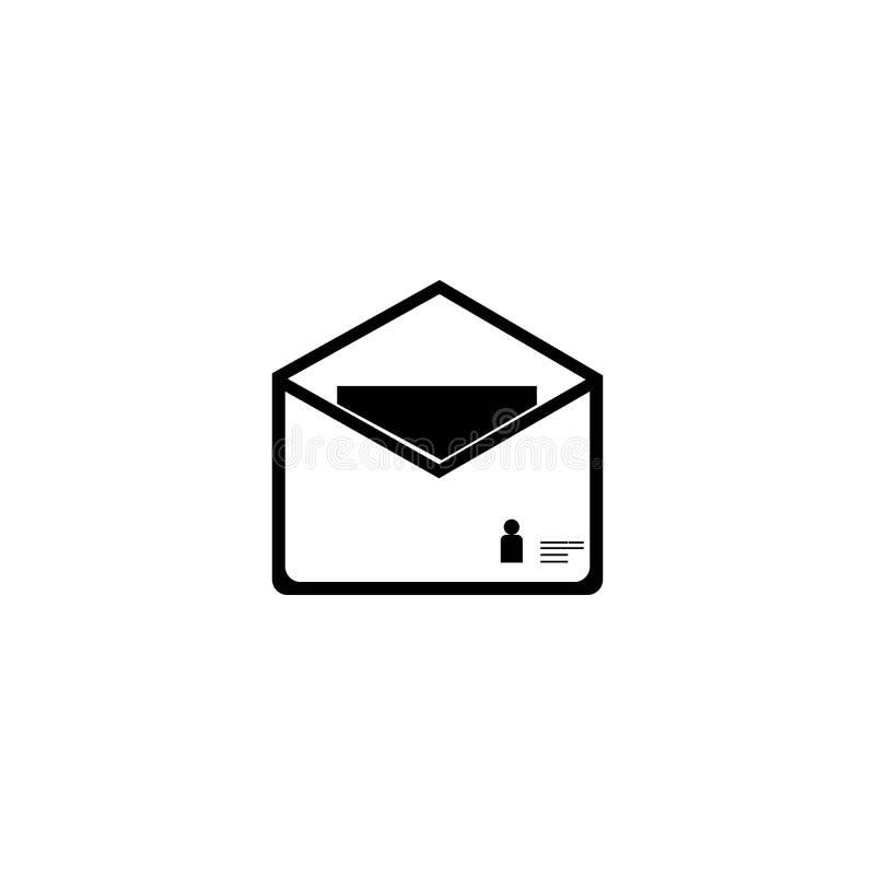 post royaltyfri illustrationer