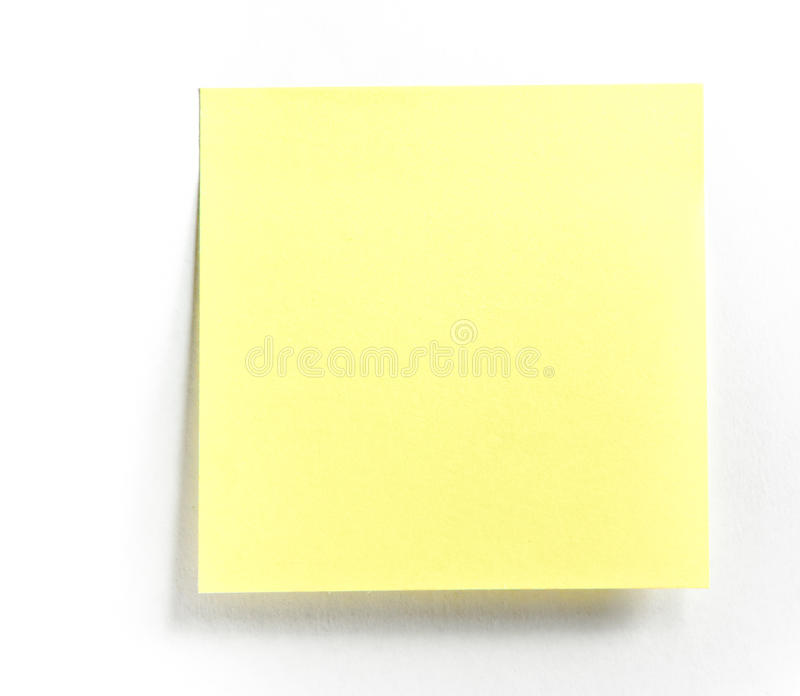 Post-it note royalty free stock images