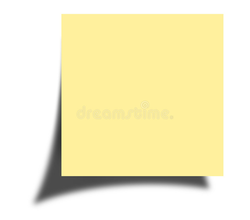 Download Post-it note stock image. Image of report, wise, agenda - 497999