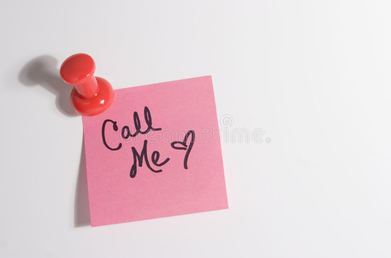 Download Post-it Note Pad With Message Stock Image - Image: 12513949