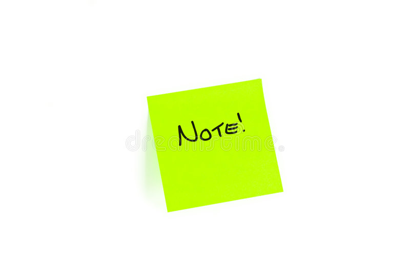 Download Post-it With NOTE Written On It Stock Photo - Image of sticky, remind: 8023544