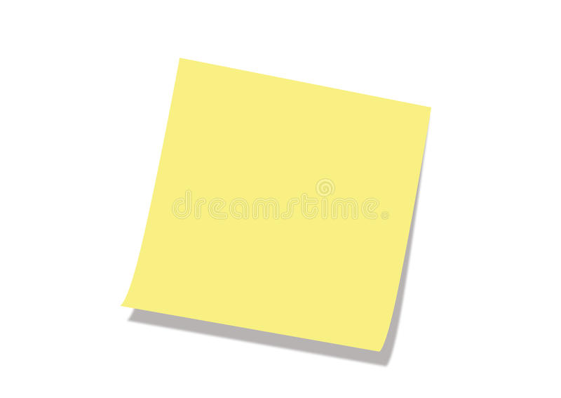 POST IT NOTE stock photo