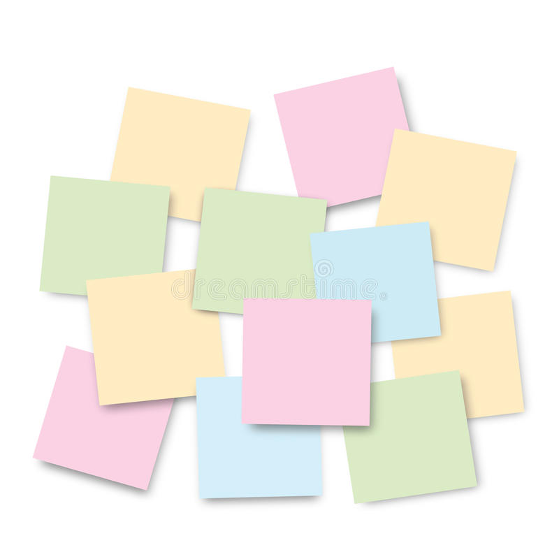 Download Post-it Notes stock photo. Image of info, document, memory - 29314410