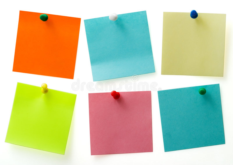 Post It Notes Stock Photos