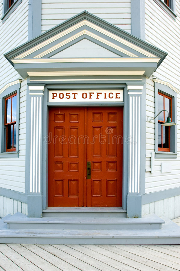 Post office building stock photos