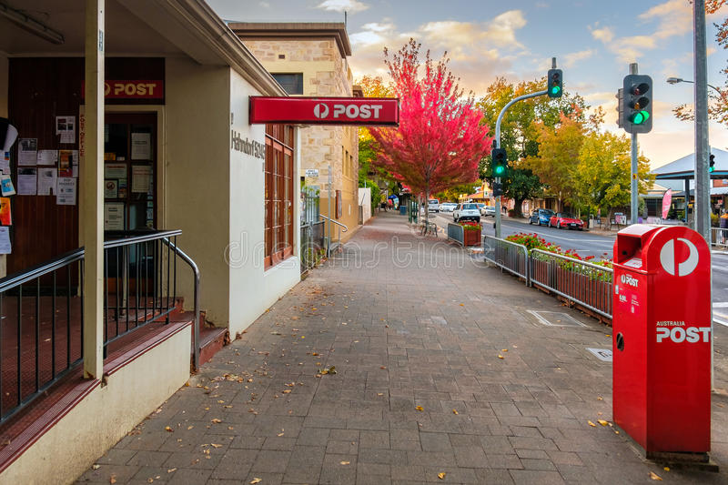 Post Office shop in Hahndorf, Adelaide Hills area, South Austral royalty free stock photo