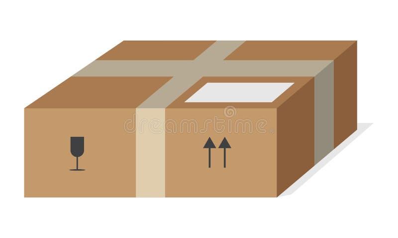 Post Pakket vector illustratie