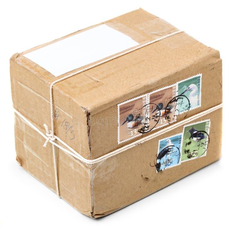 Post pakket stock afbeelding
