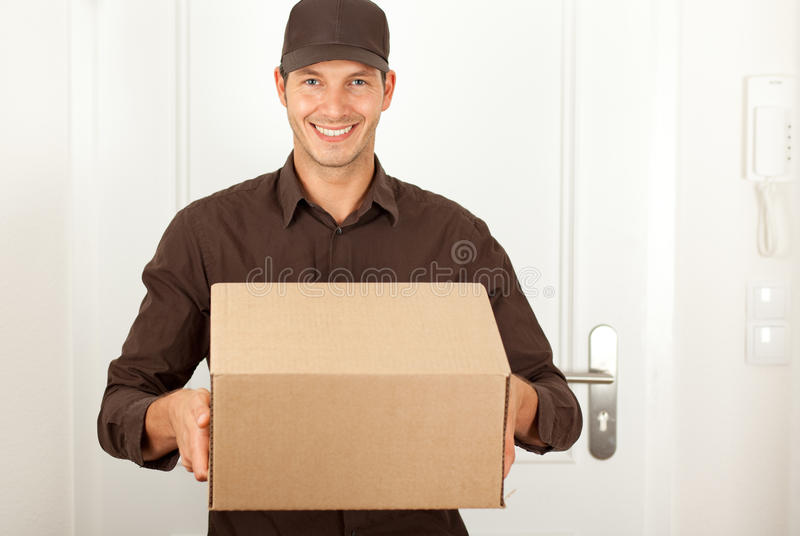 Post shipping royalty free stock photos